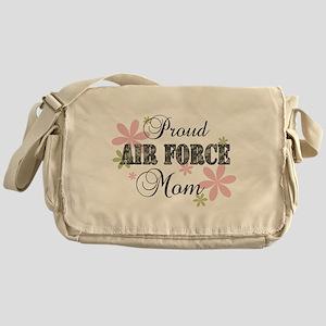 Air Force Mom [fl camo] Messenger Bag